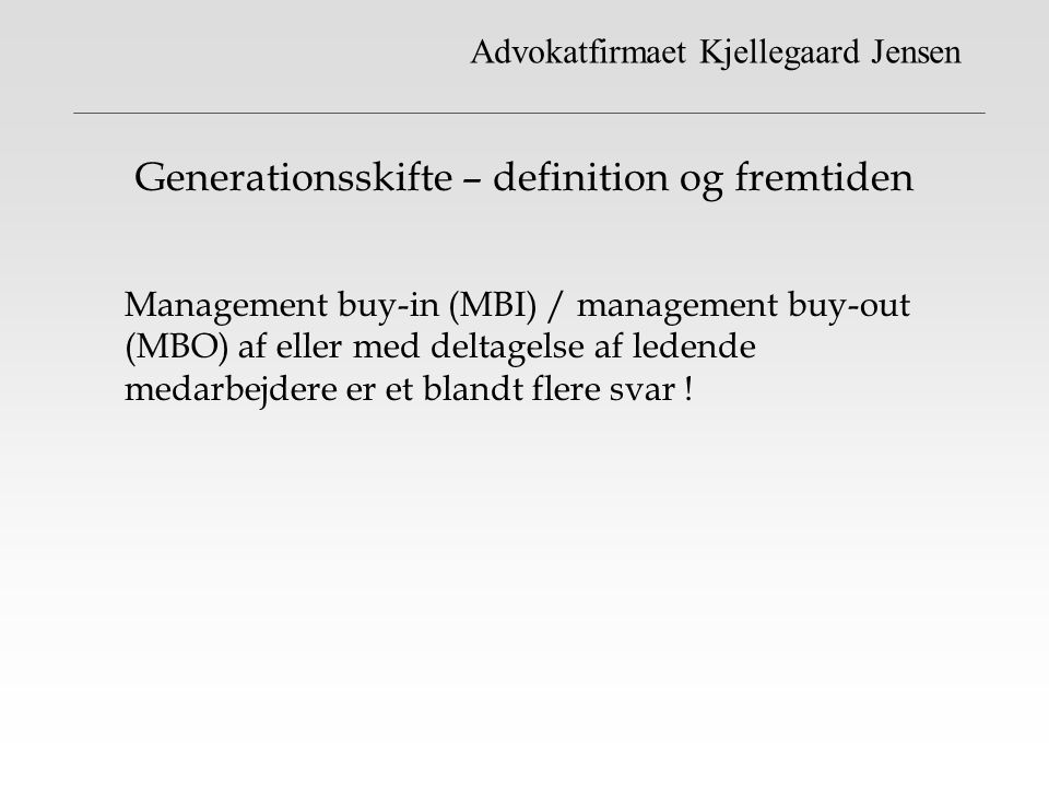 Generationsskifte – definition og fremtiden