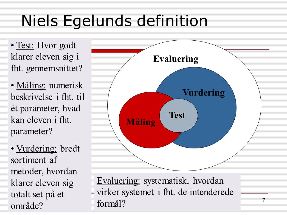 Niels Egelunds definition