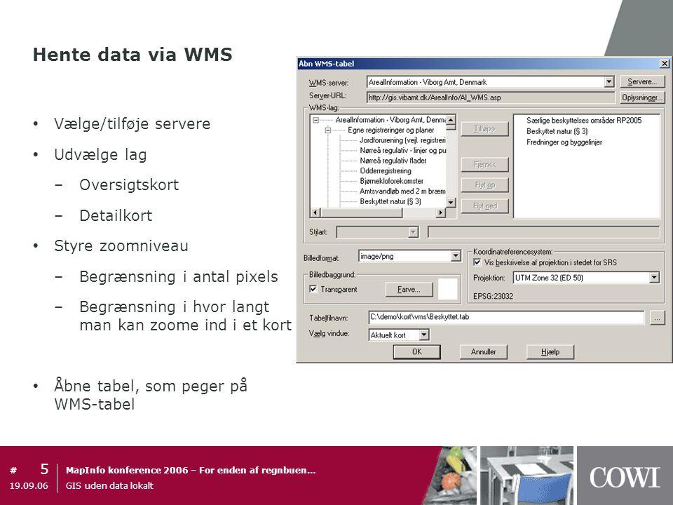 Gis Uden Data Lokalt Gis Uden Data Lokalt Ppt Download