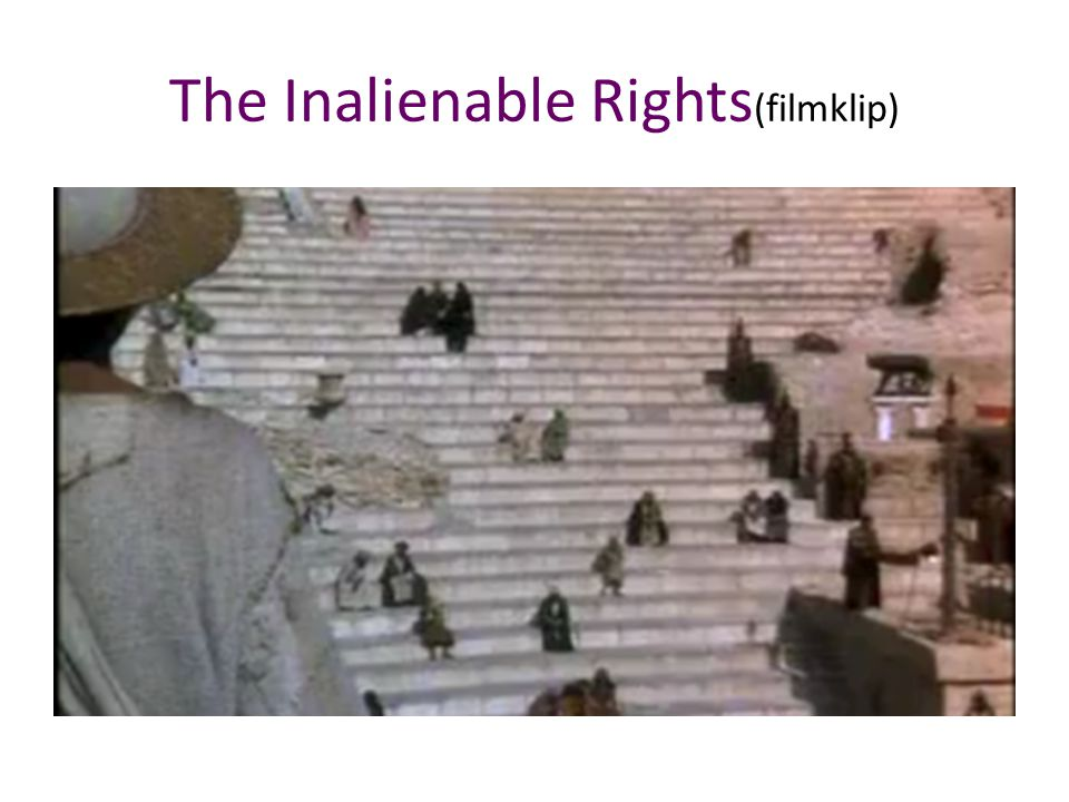 The Inalienable Rights(filmklip)