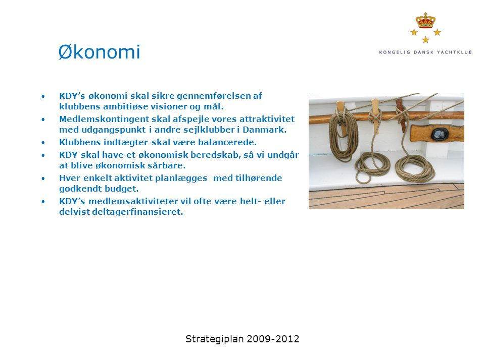 Økonomi Strategiplan 2009-2012
