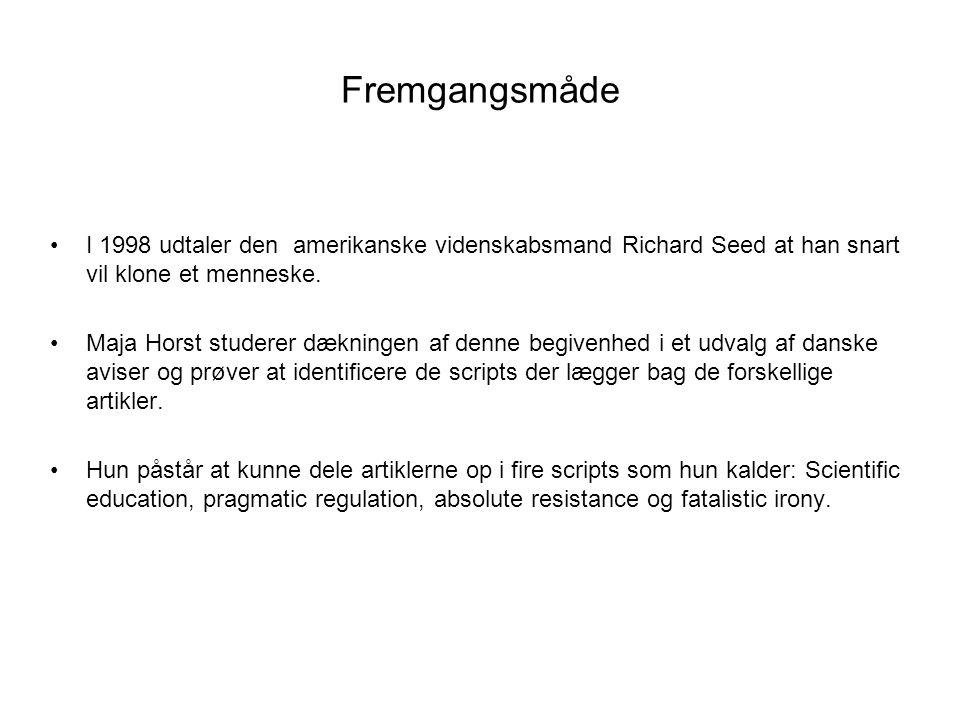 Videnskab og offenlighed - ppt download