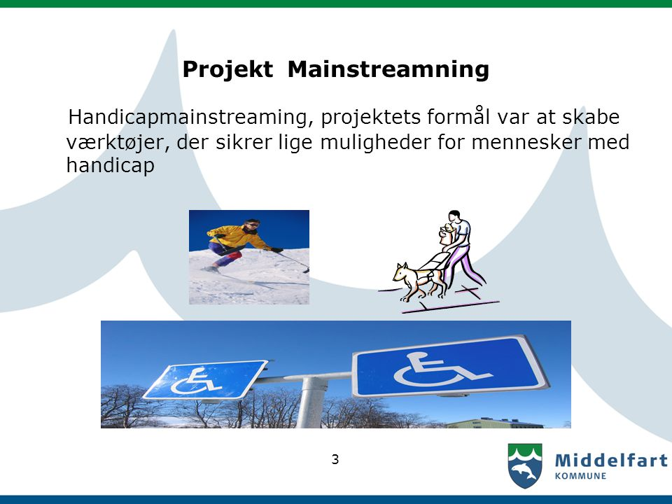 Projekt Mainstreamning