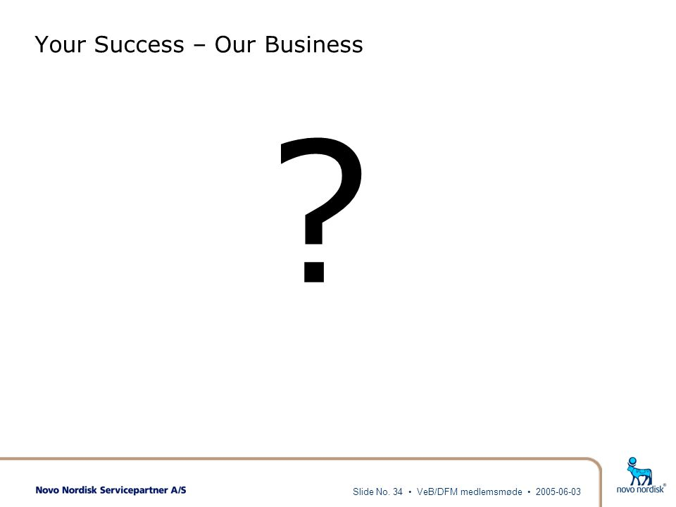 Your Success – Our Business