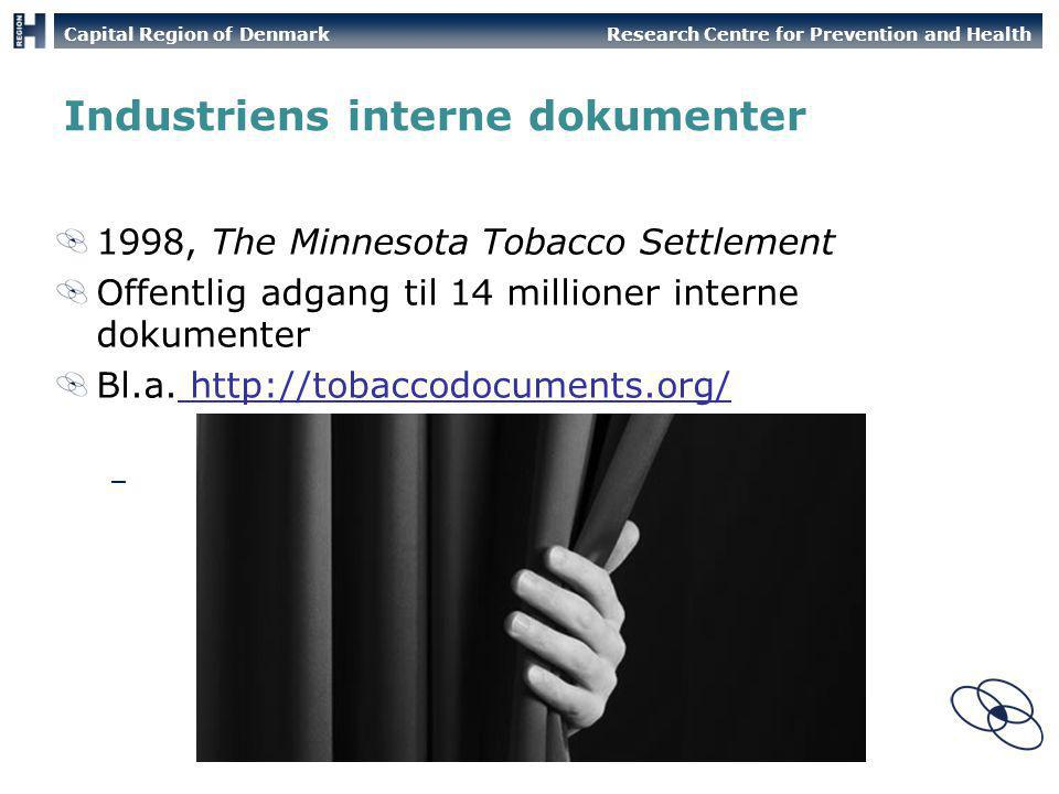 Industriens interne dokumenter