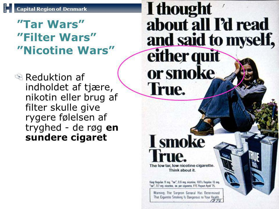 Tar Wars Filter Wars Nicotine Wars