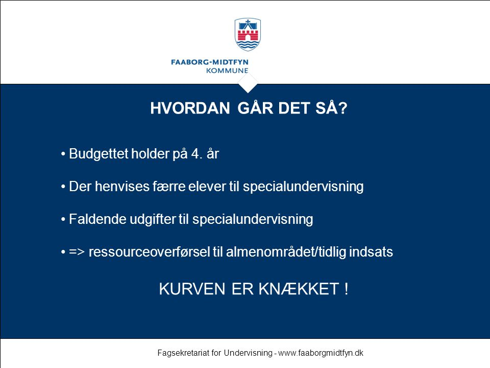 Fagsekretariat for Undervisning - www.faaborgmidtfyn.dk
