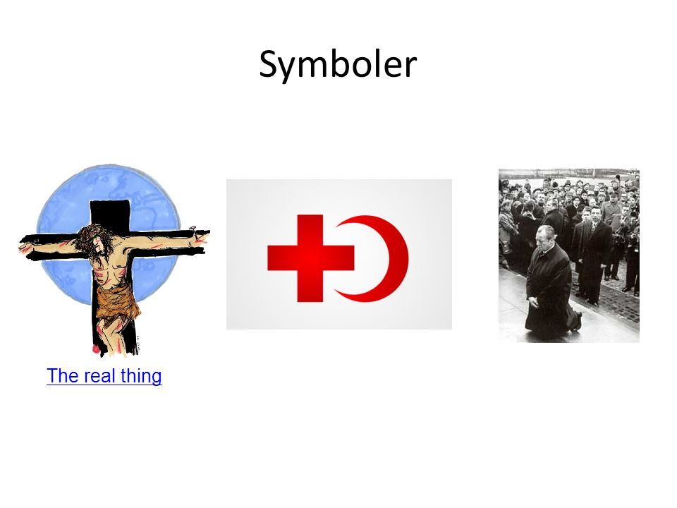 Symboler The real thing