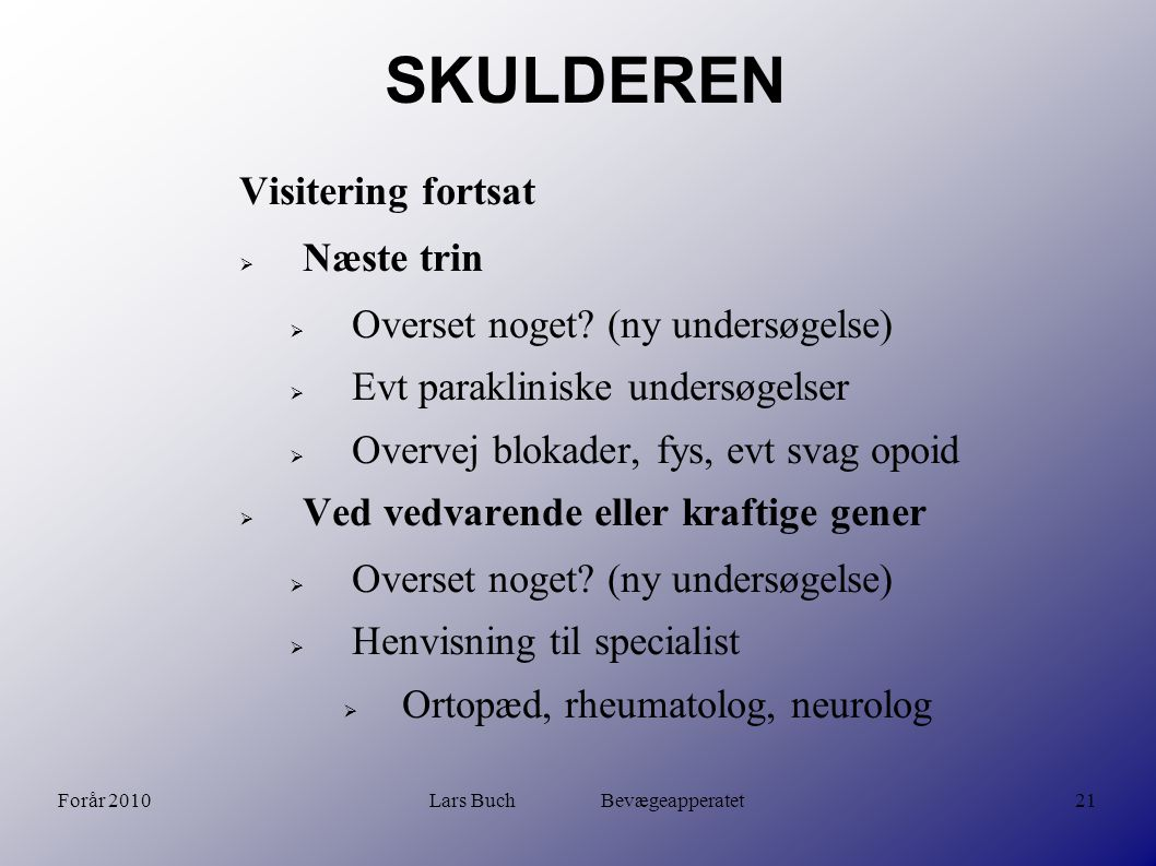 Lars Buch Bevægeapperatet - ppt video online download