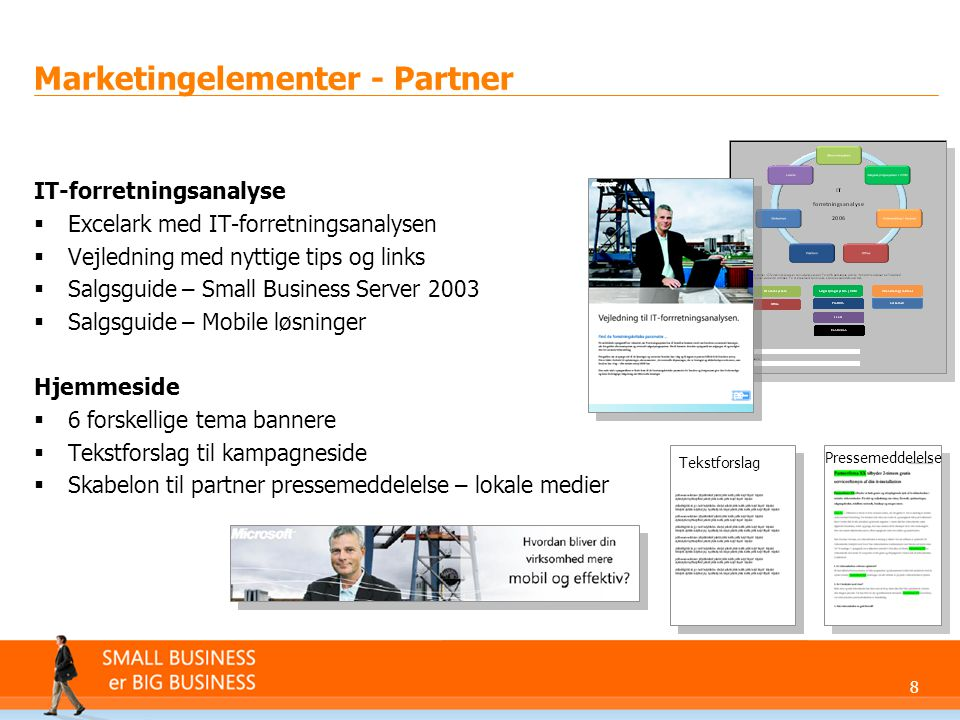 Marketingelementer - Partner