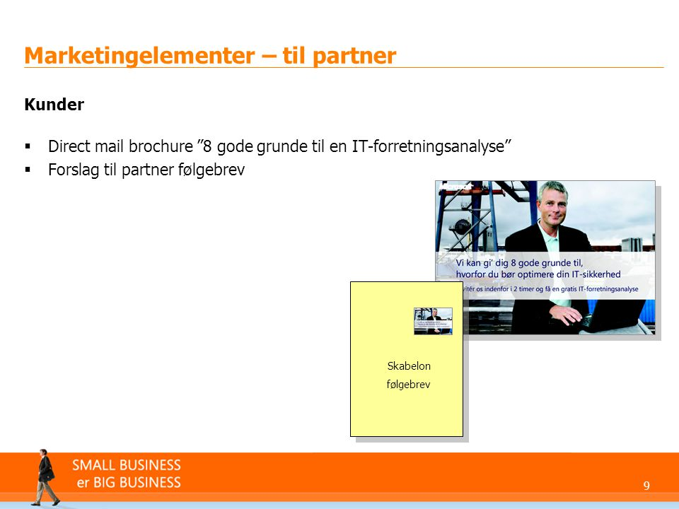Marketingelementer – til partner
