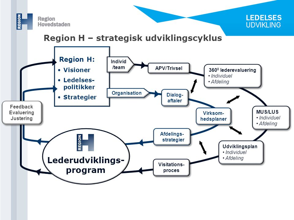 Afdelings-strategier Lederudviklings-program