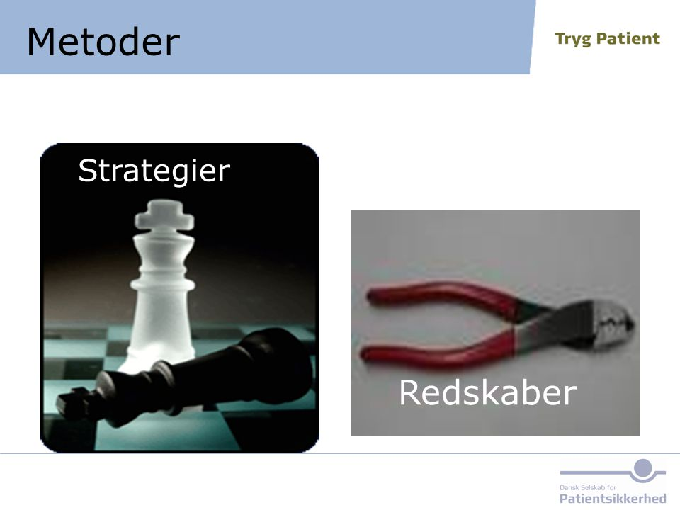 Metoder Redskaber Strategier