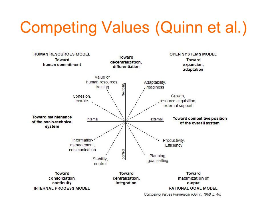 Competing Values (Quinn et al.)
