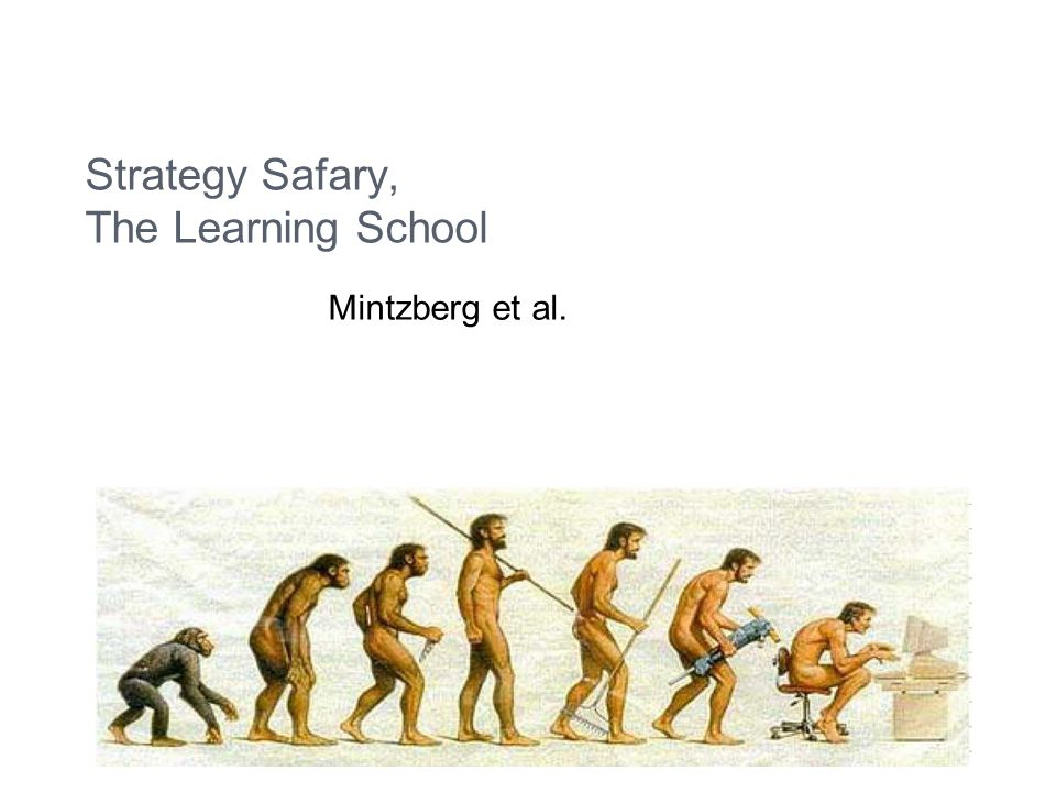 Strategy Safary, The Learning School