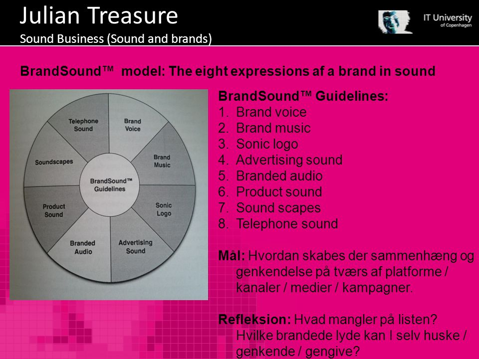 Julian Treasure Sound Business (Sound and brands)