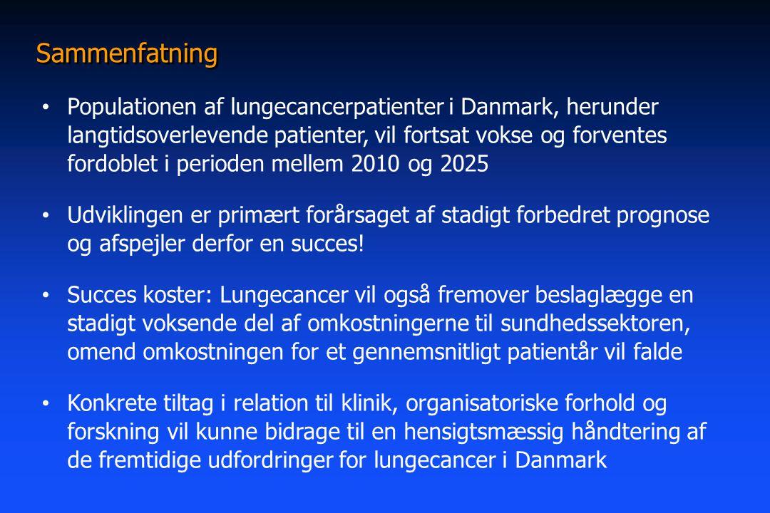 prognose lungekræft