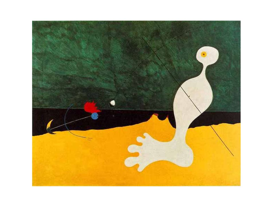 Miro: Personage Throwing a Stone at a Bird