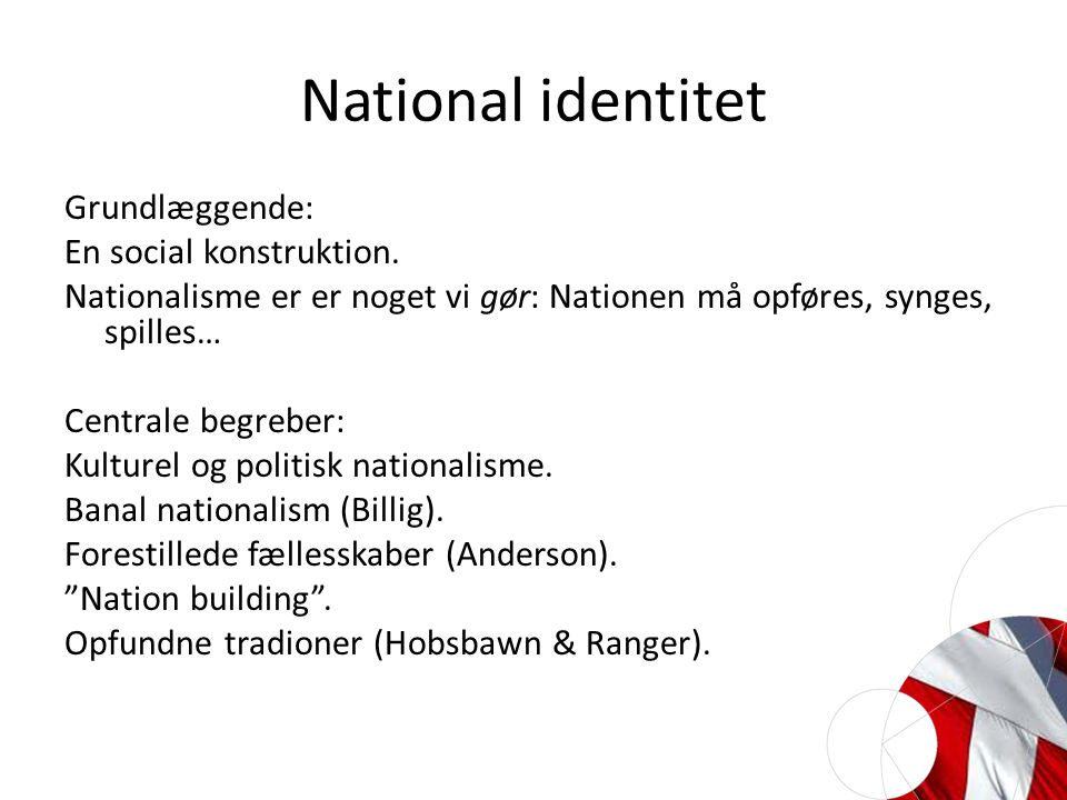 National identitet