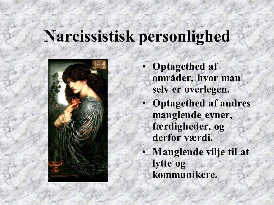 Narcissistisk personlighed