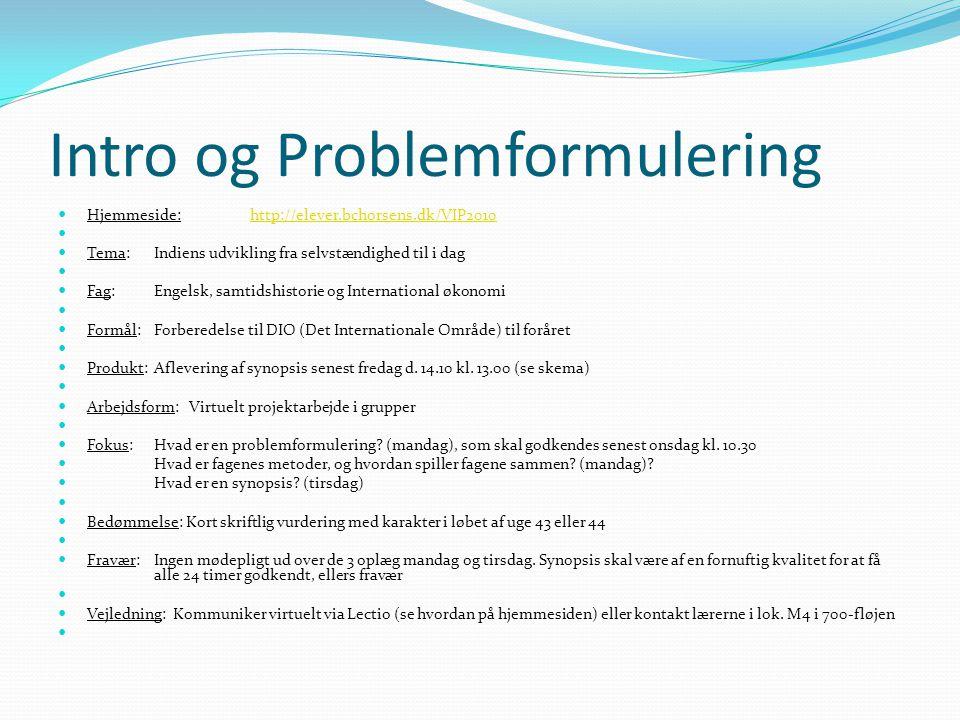 Intro Og Problemformulering Ppt Video Online Download