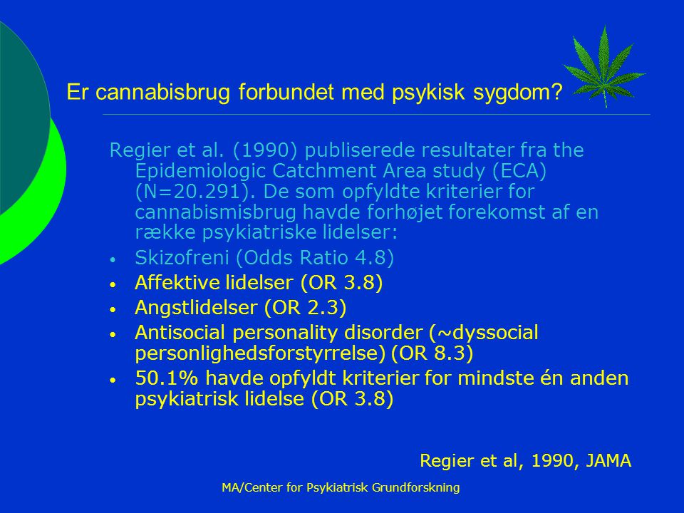 MA/Center for Psykiatrisk Grundforskning
