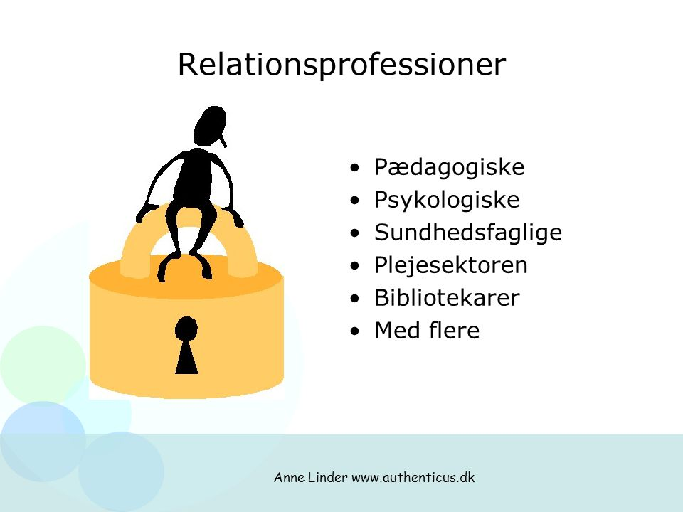 Relationsprofessioner