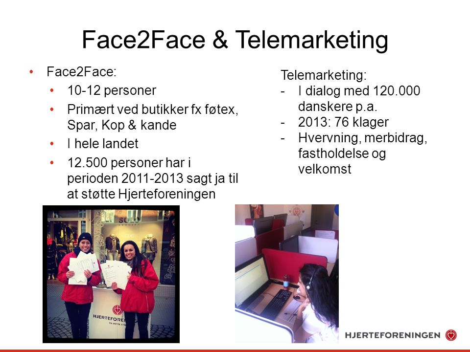 Face2Face & Telemarketing