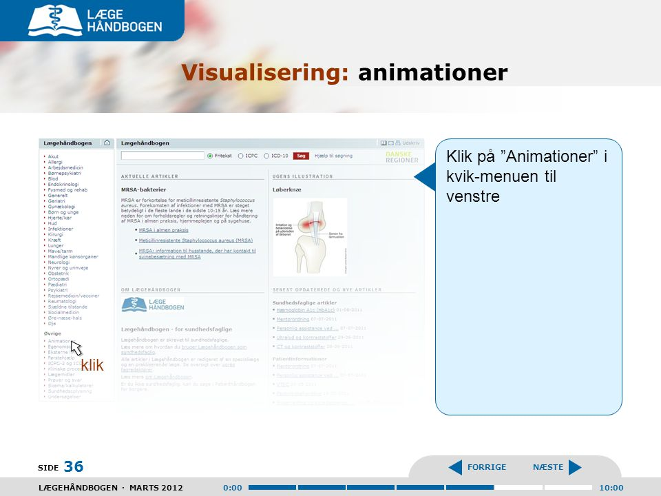 Visualisering: animationer