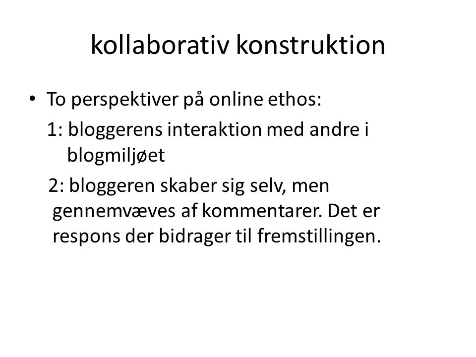 kollaborativ konstruktion