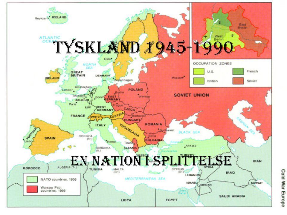 Tyskland En Nation I Splittelse Ppt Download