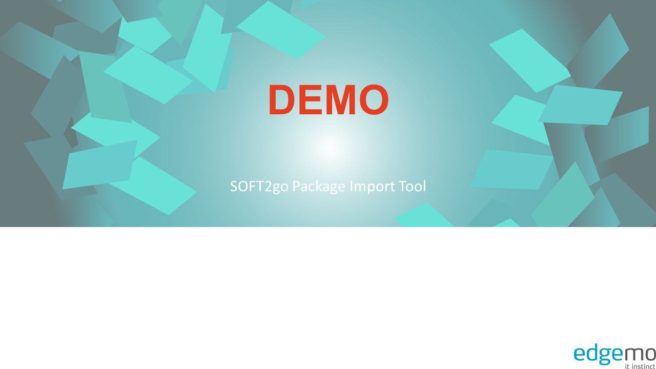 SOFT2go Package Import Tool