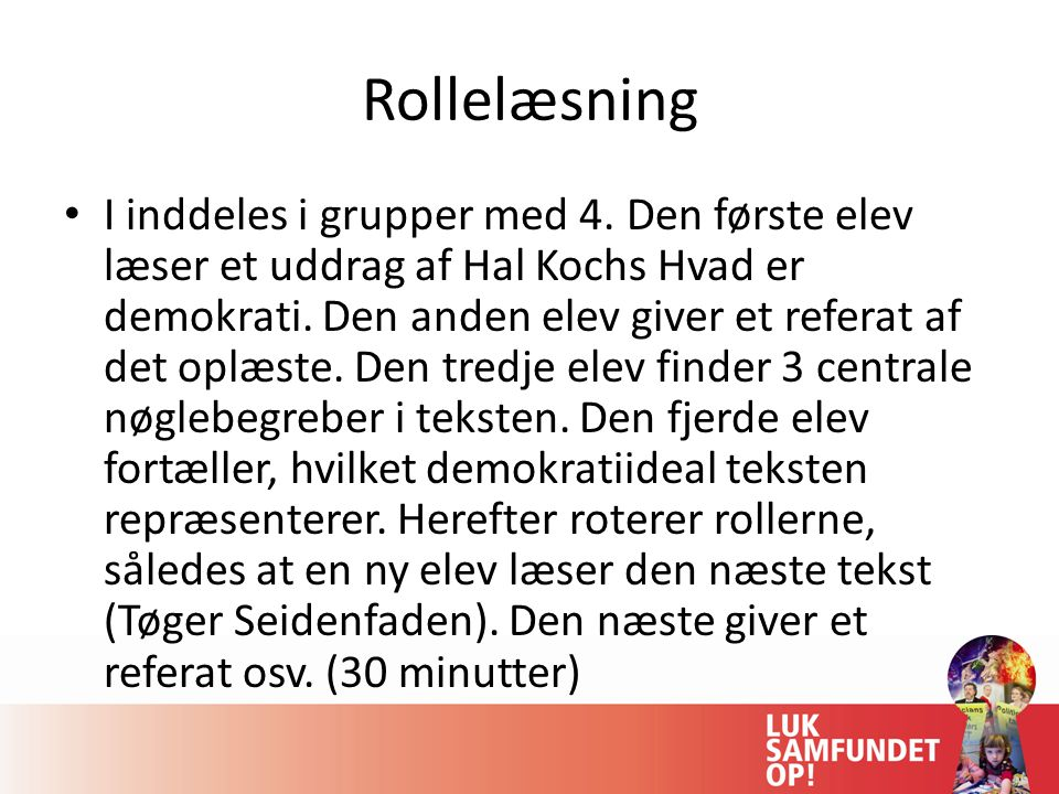 Rollelæsning