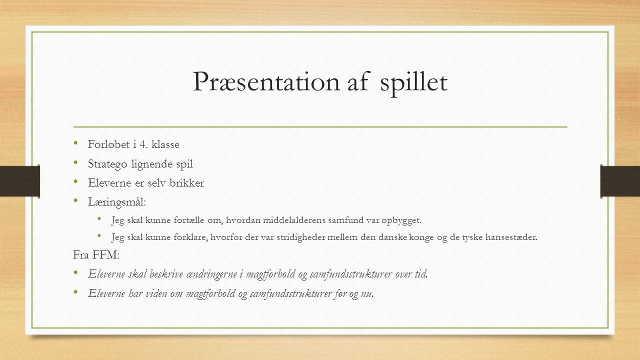 Middelalder Stratego Ppt Download
