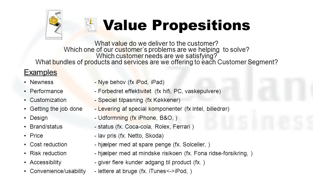 Value Propesitions Examples