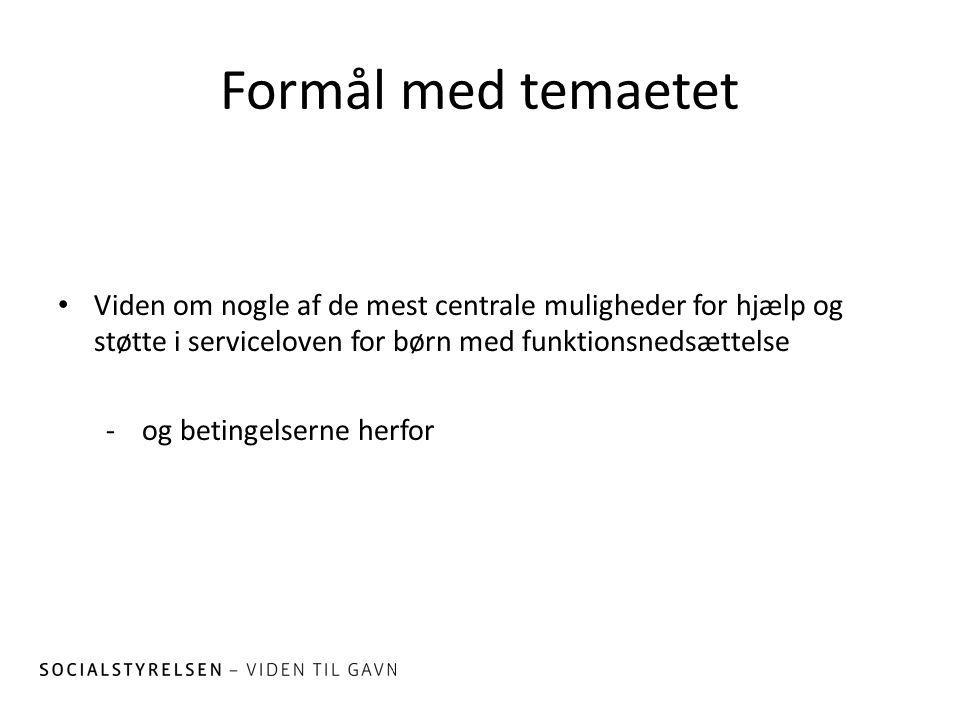 ab1c1caaa Tema 1 Muligheder for hjælp og støtte efter serviceloven - ppt video ...