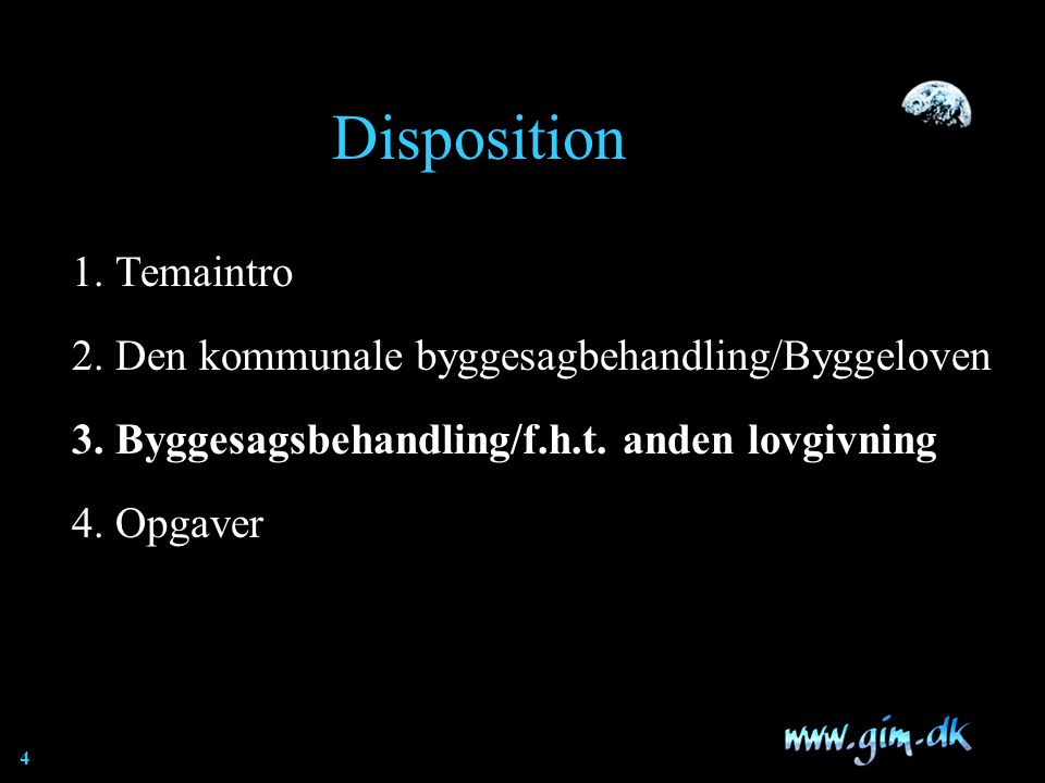 Disposition 1. Temaintro