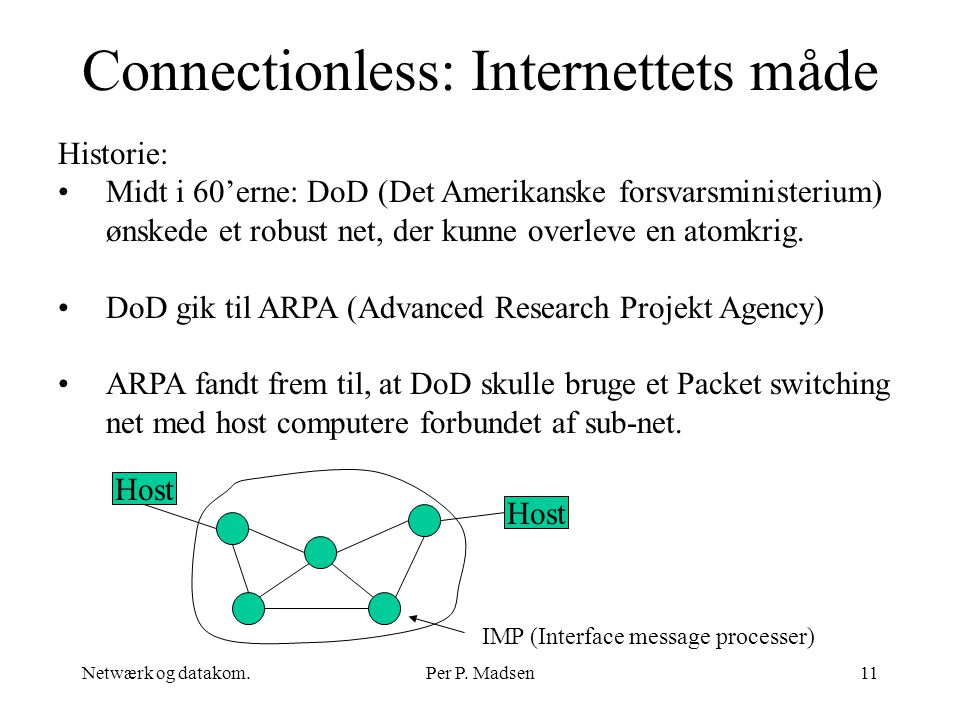 Connectionless: Internettets måde
