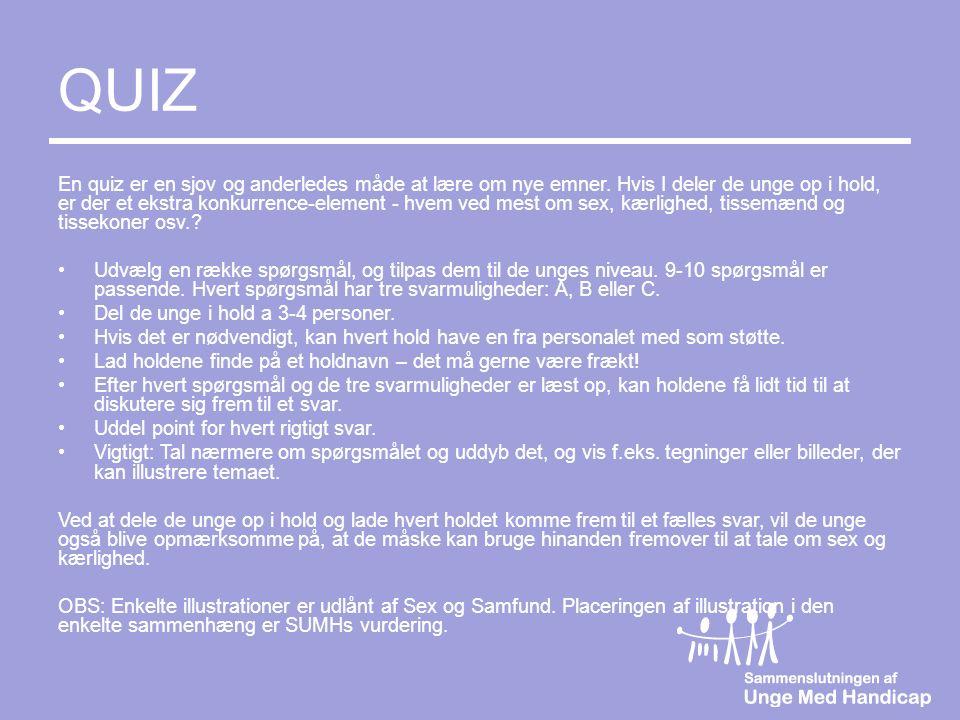 sjove quiz spørgsmål med svar